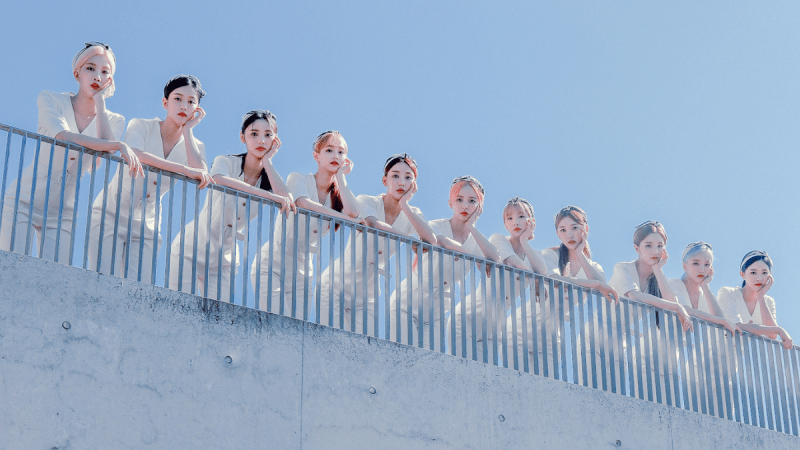 LOONA enters the Billboard 200 charts with [12:00]