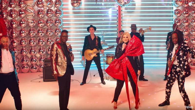 We're Grooving All Season Long With Meghan Trainor's 'Holidays' Music Video Feat. Earth, Wind & Fire