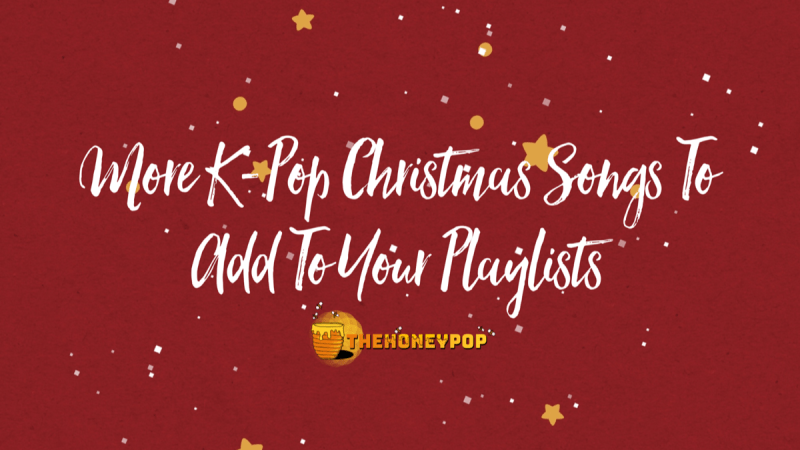 k-pop christmas playlist