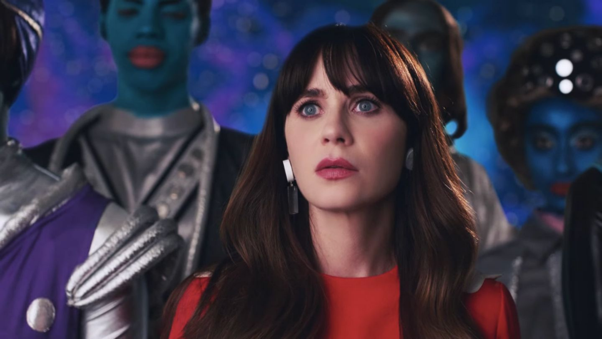 Katy Perry Or Zooey Deschanel? Not Even The Aliens Seem To Know In The 'Not the End of the World' Music Video