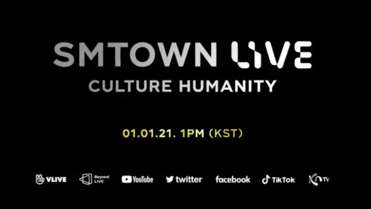 Head Into SMTOWN For Their Live NYE Culture Humanity Show