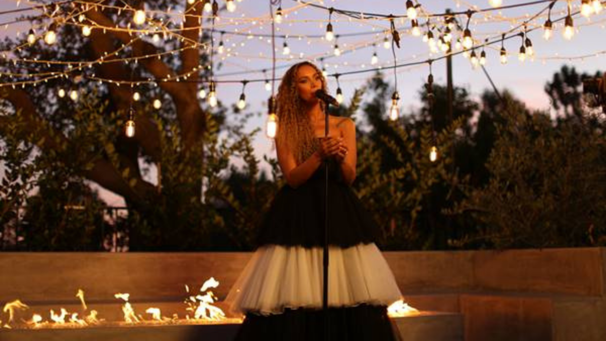 Leona Lewis Sings Special Performance Of 'Ave Maria,' To Inspire Hope And Calm For Us All