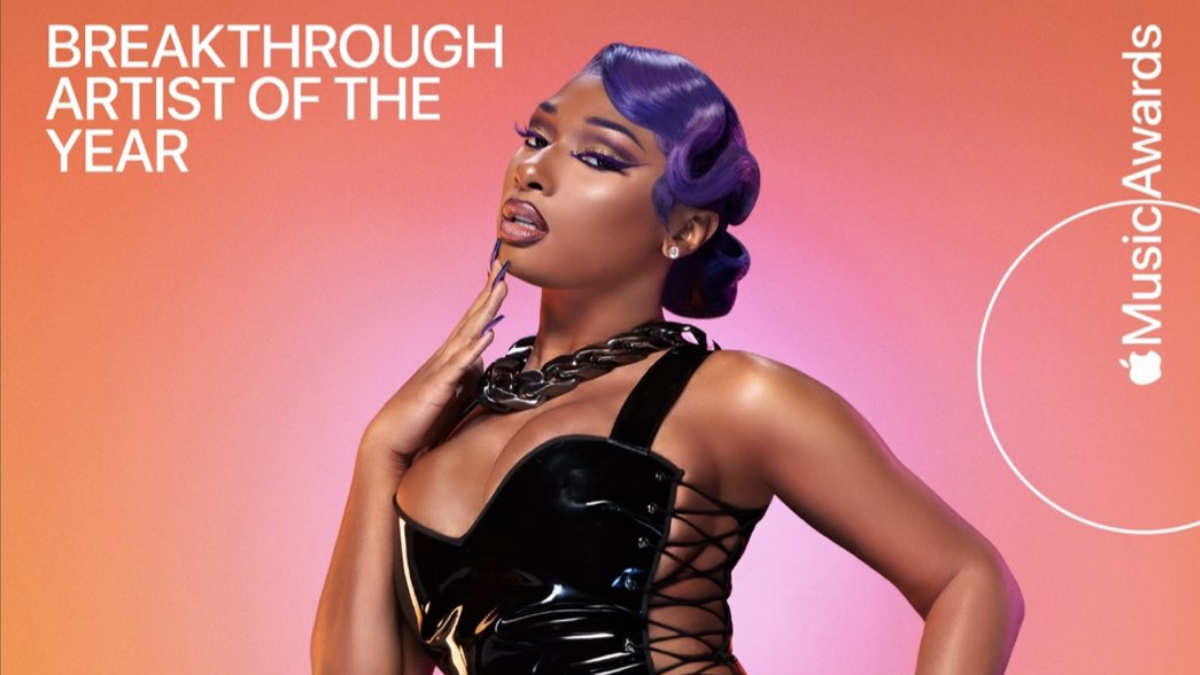 Megan Thee Stallion Serves Fire And Body at Apple Music Awards