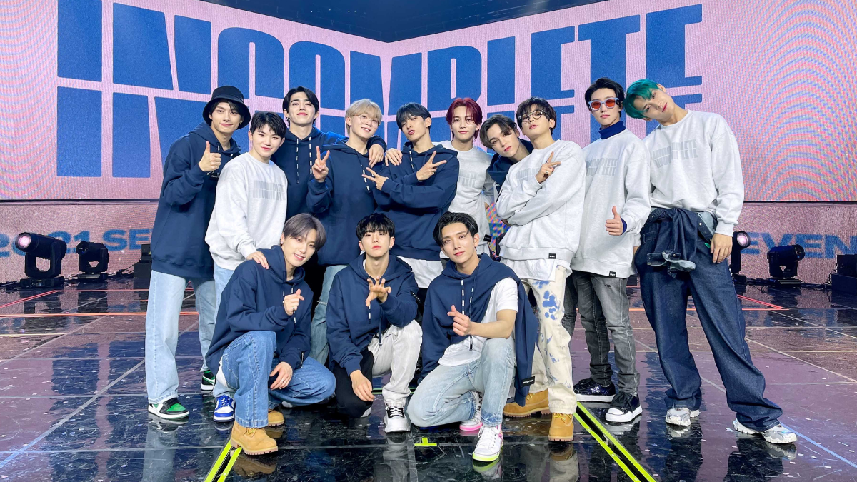 The Party And Tears Never End With SEVENTEEN's  IN-COMPLETE