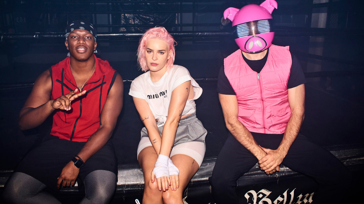 Anne-Marie, KSI And Digital Farm Animals 'Don't Play' Around With This Collab