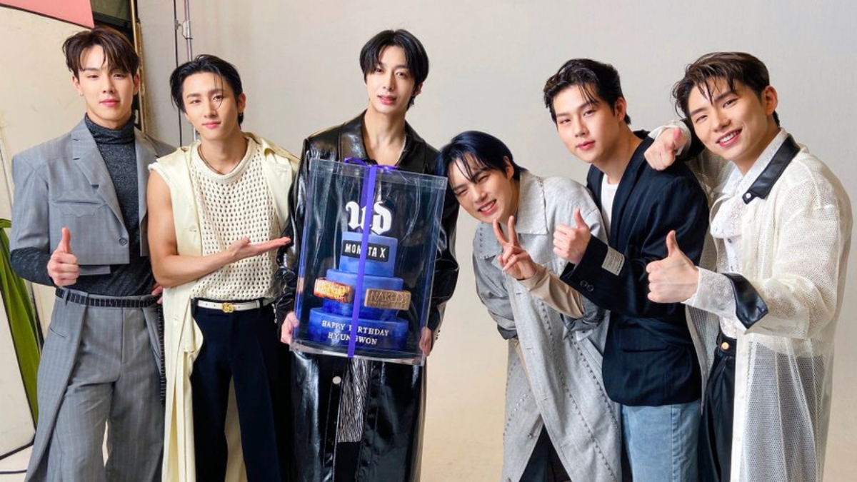Monsta X Gets Naked With Urban Decay