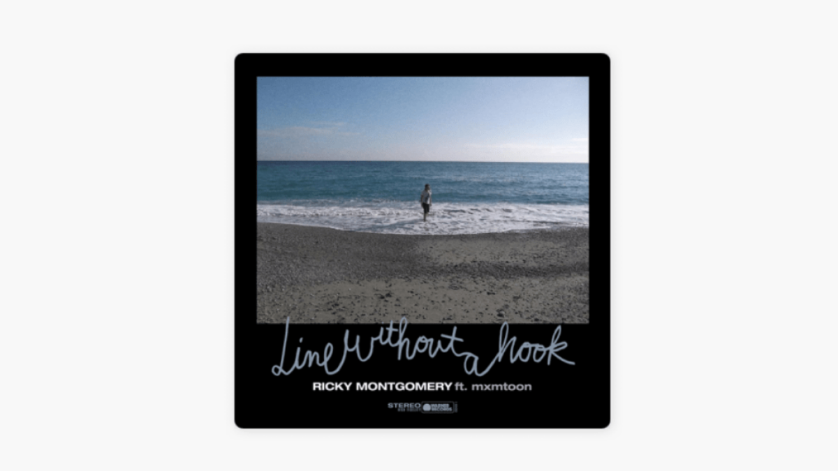 'Line Without A Hook': Ricky    Montgomery's Remix With mxmtoon