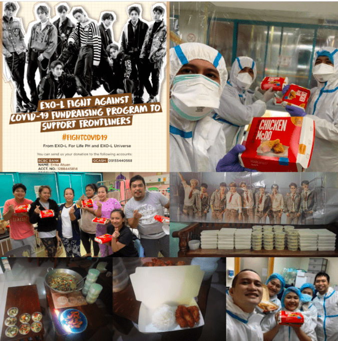 Fanlanthropy EXO The Honey POP Blue Whale Mission of Our Lady Inc House of Somang