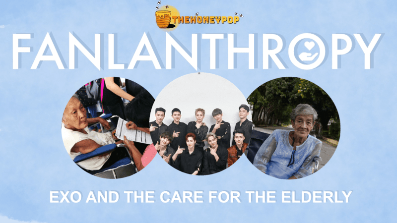 Fanlanthropy: EXO and the Care For the Elderly