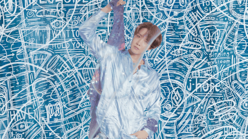 j-hope Takes Us to The 'Blue Side' in the Extended Version of The Song