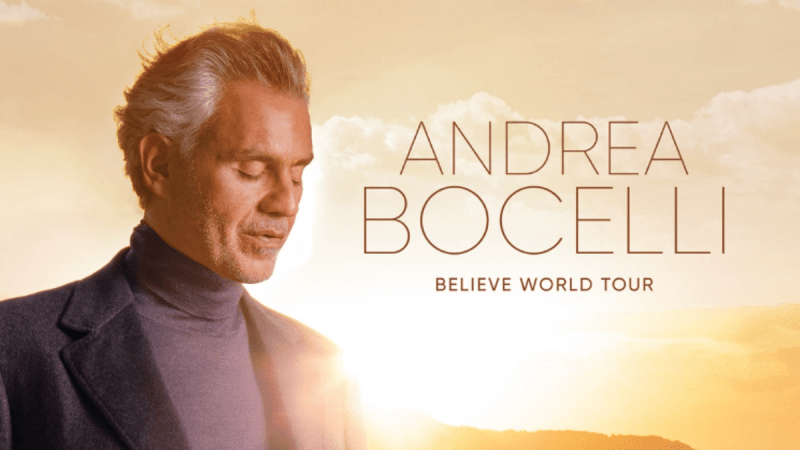 Andrea Bocelli is Ready to Come Back to the Stage!