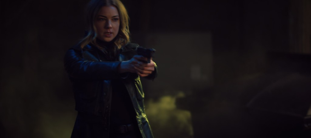Sharon Carter/Agent 13 (Emily VanCamp) in Marvel Studios' THE FALCON AND THE WINTER SOLDIER.
