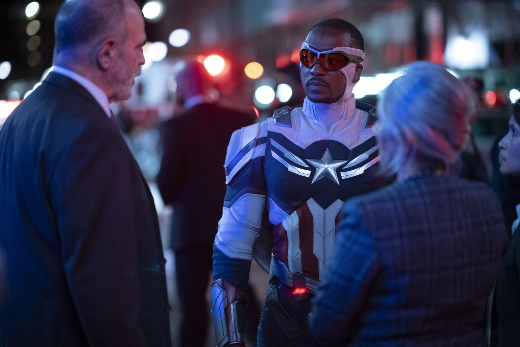 Falcon/Sam Wilson (Anthony Mackie) in Marvel Studios' THE FALCON AND THE WINTER SOLDIER.