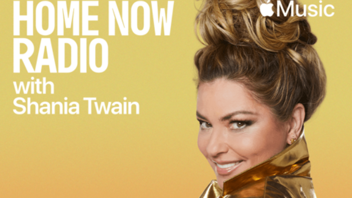 Shania Twain Is Home, On Home Now Radio!