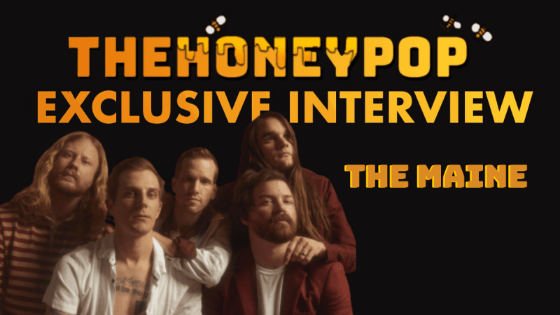 EXCLUSIVE INTERVIEW: We Got The 'Sticky' On The Maine And Their New Music!