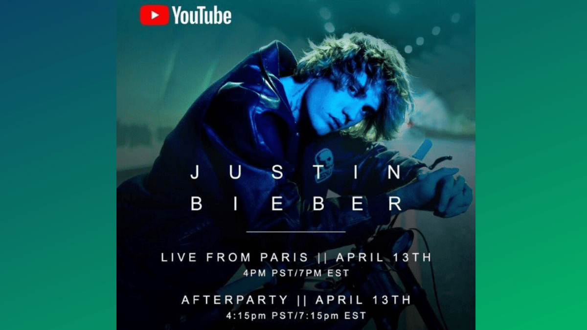 Justice by Justin Live From Paris TONIGHT
