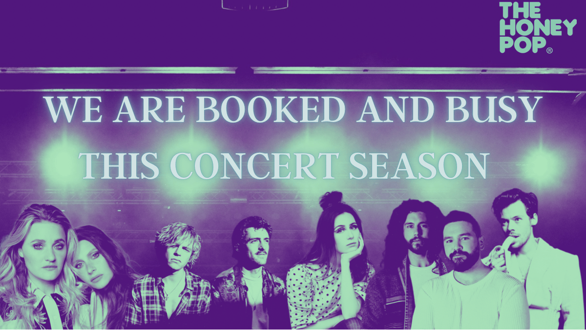 We Are Booked And Busy This Concert Season