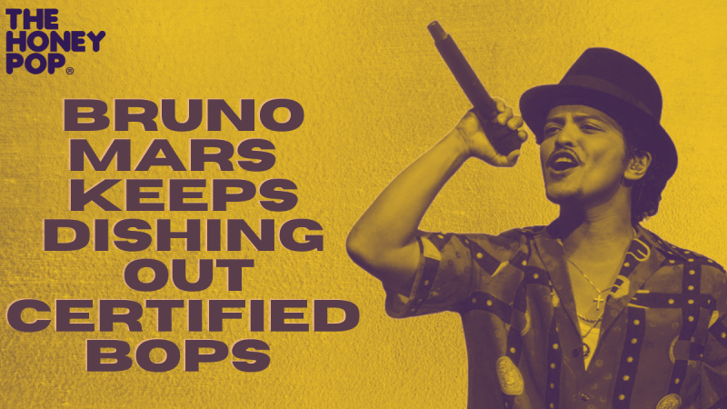 Bruno Mars Keeps Dishing Out Certified Bops