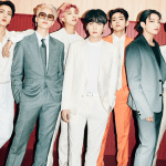 Teaser photo for BTS' 'Butter,' featuring BTS dressed in suits