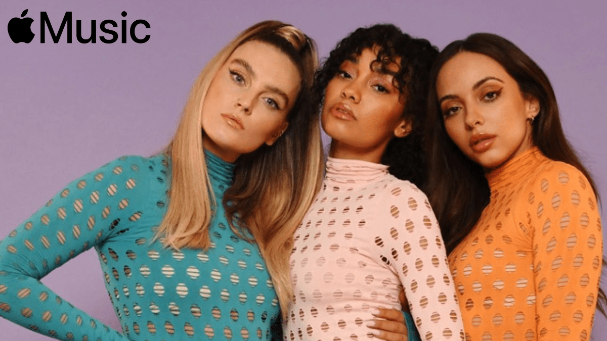 Little Mix Dropped Their 'Conffeti' with Apple Music!