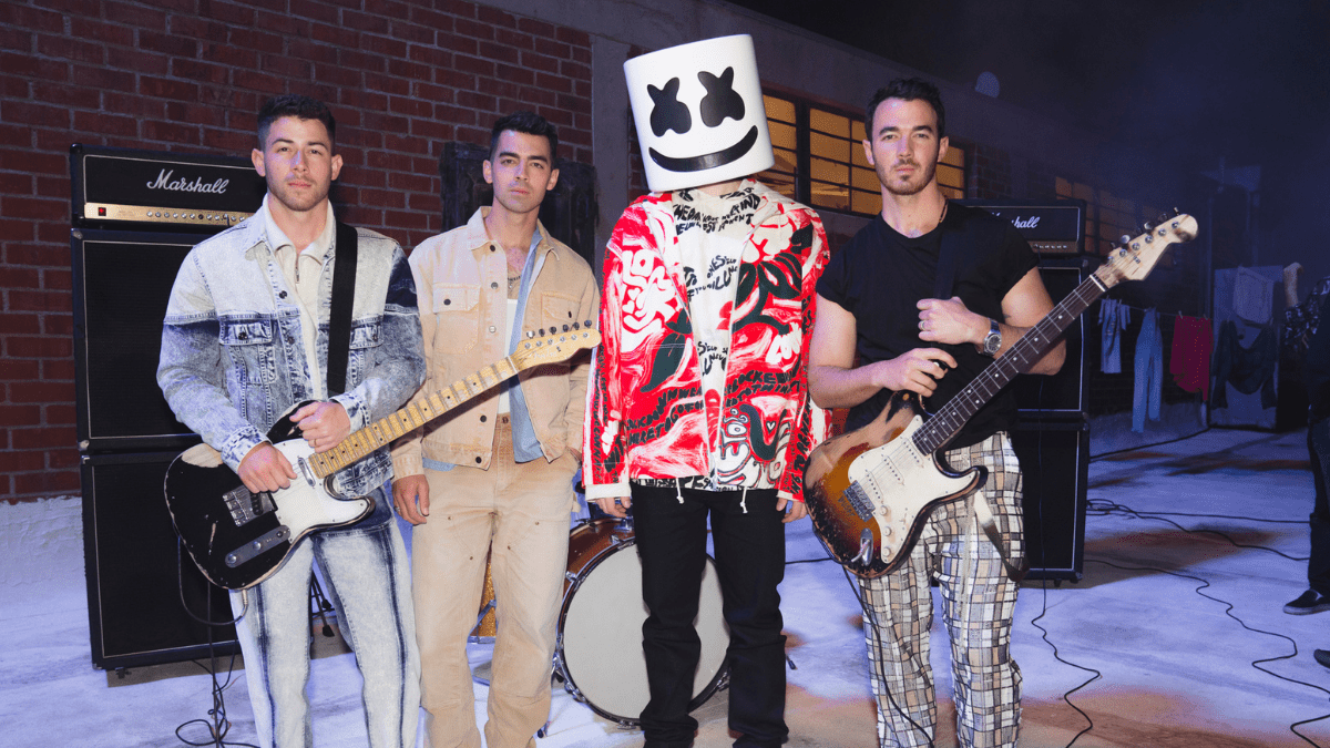 The Jonas Brothers And Marshmello Have Us Love-Stoned With Their New Song