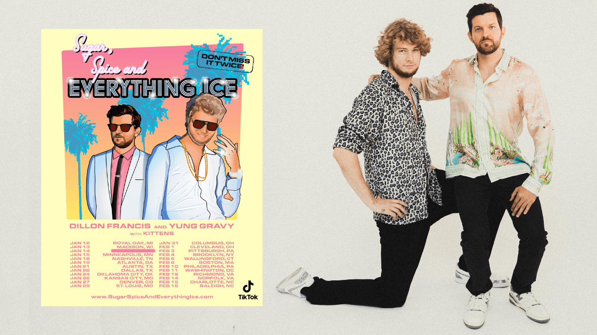 Sugar, Spice And Everything Ice  Tour ft. Yung Gravy & Dillon Francis