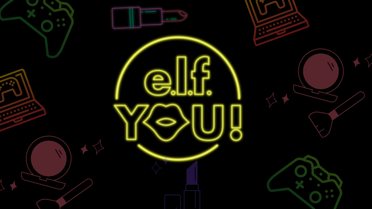 e.l.f. Mixing Gaming And Makeup = The Perfect Combo