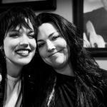 Amy Lee and Lzzy Hales