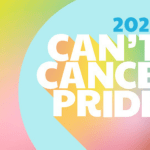 Can't Cancel Pride 2021 graphic in rainbow colours