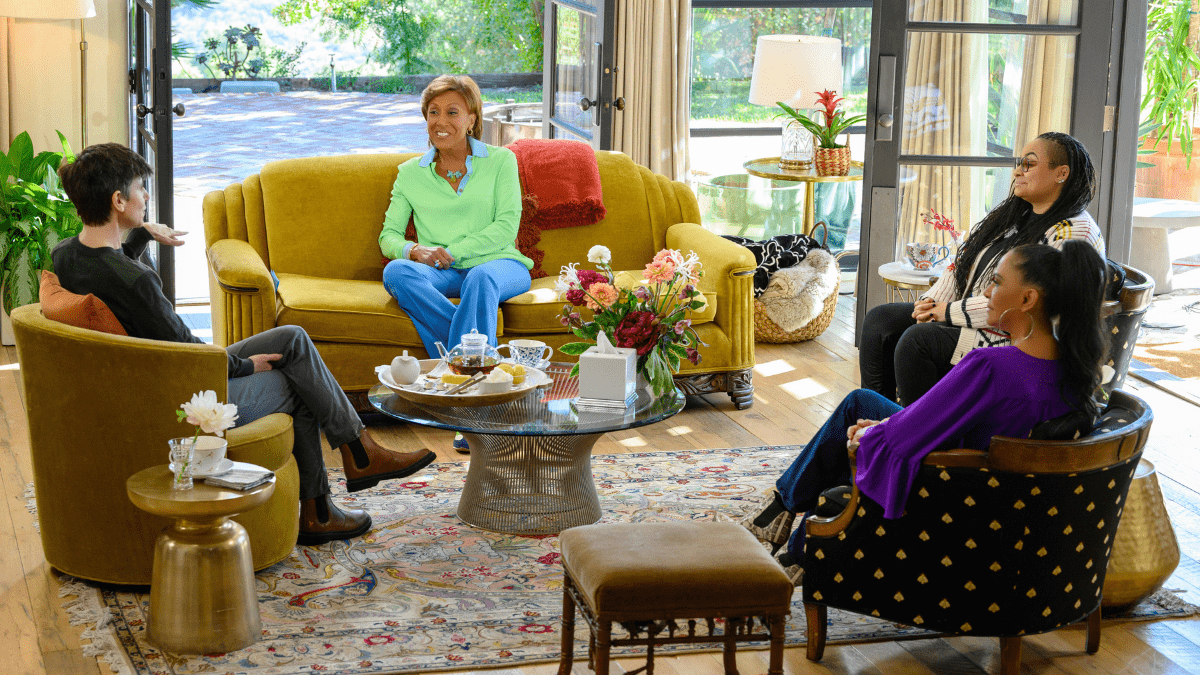 New Show Added To Our Lists:  Turning The Tables With Robin Roberts  On Disney+