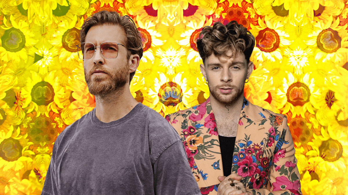 Calvin Harris And Tom Grennan lean 'By Your Side'