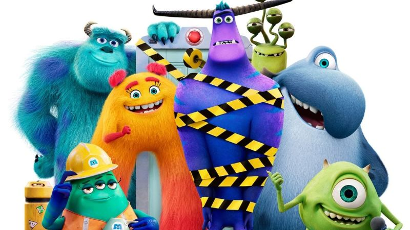 Mike And Sully Are Back To Work At  Monsters Inc.!