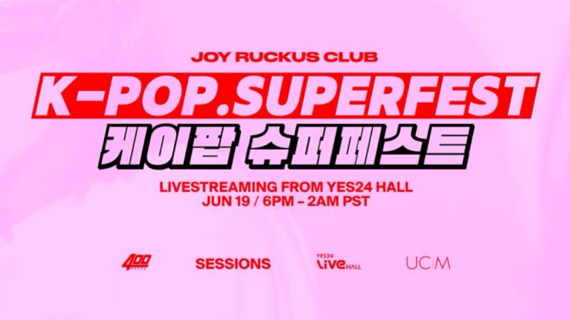 Joy Ruckus Club Presents K-Pop SuperFest. Here Is Everything You Need To Know