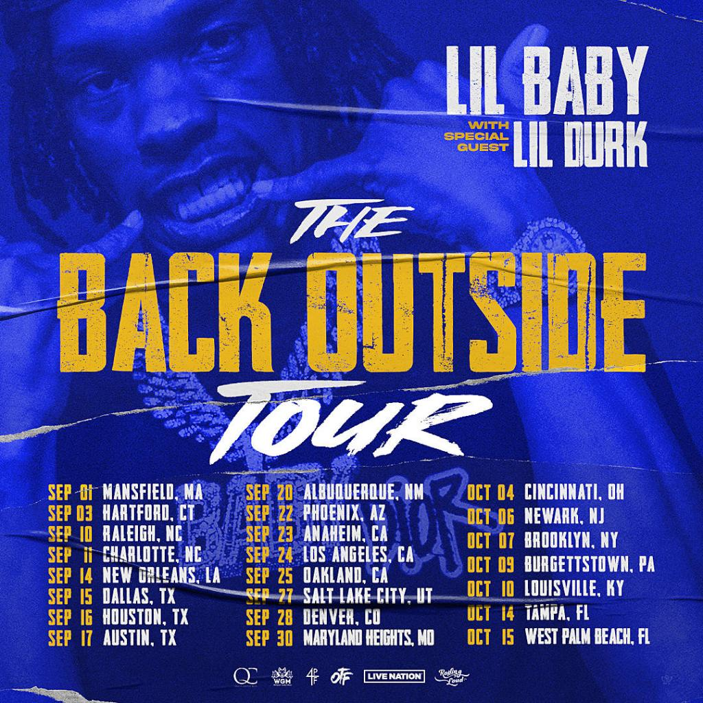 Lil baby tour dates Artists on the road
