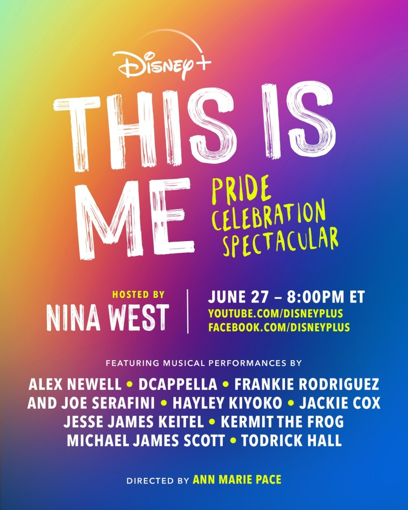disney+'s this is me live poster