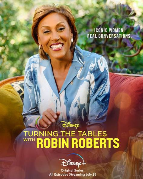 poster for Turning the Tables with Robin Roberts.
