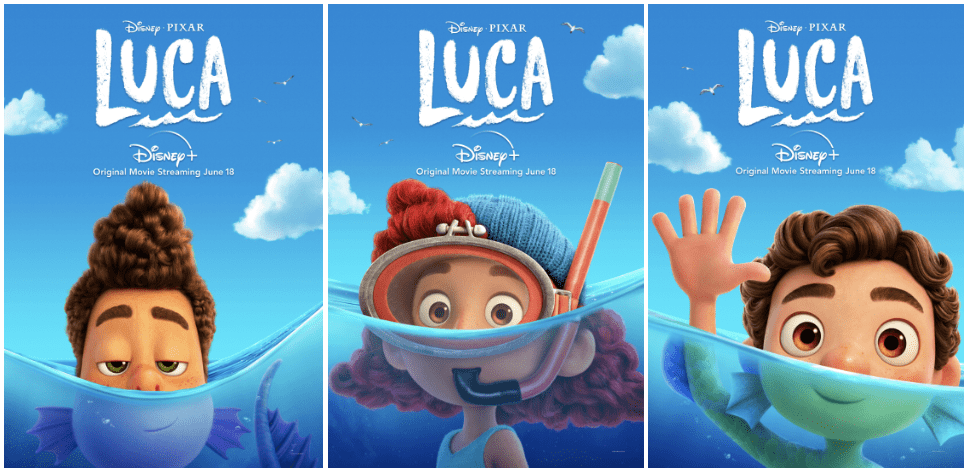 images of alberto, giulia and luca, respectively