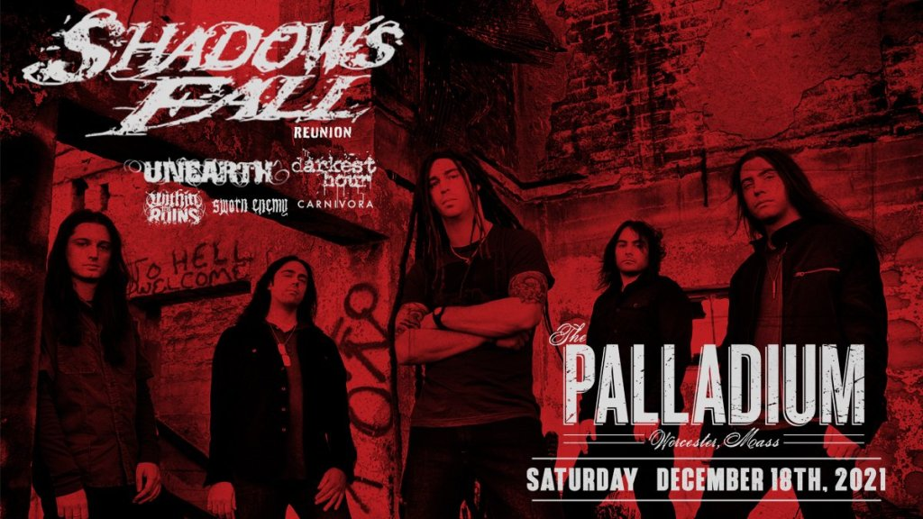 Shadows Fall Reunion Show Artists on the road
