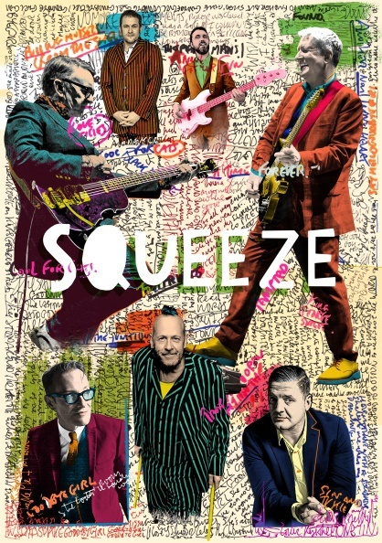 Squeeze Artists on the road