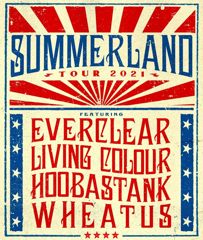Summerland poster Artists on the road