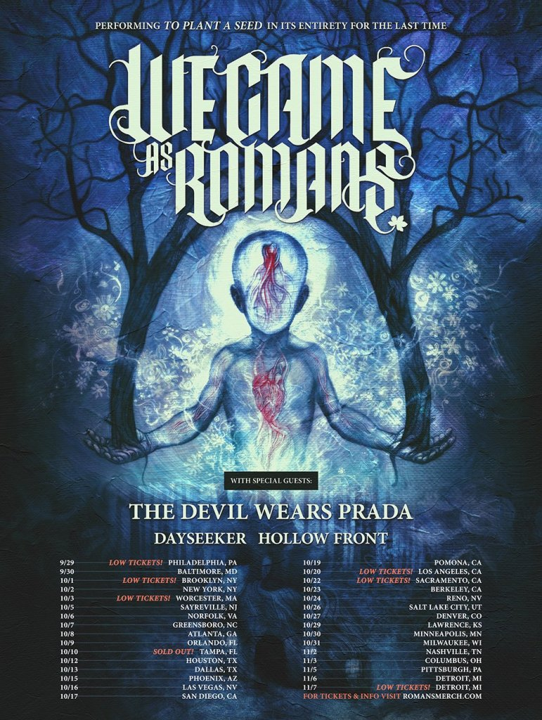 We Came As Romans Tour Dates Artists on the road