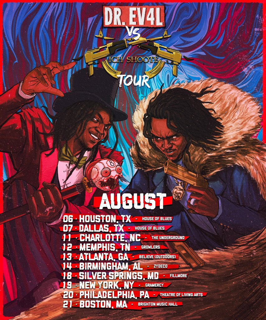 Young Nudy tour dates Artists on the road