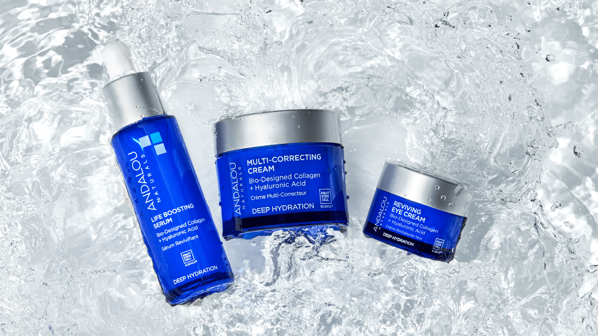 Pamper Your Skin With Andalou Naturals  Deep Hydration  Skincare