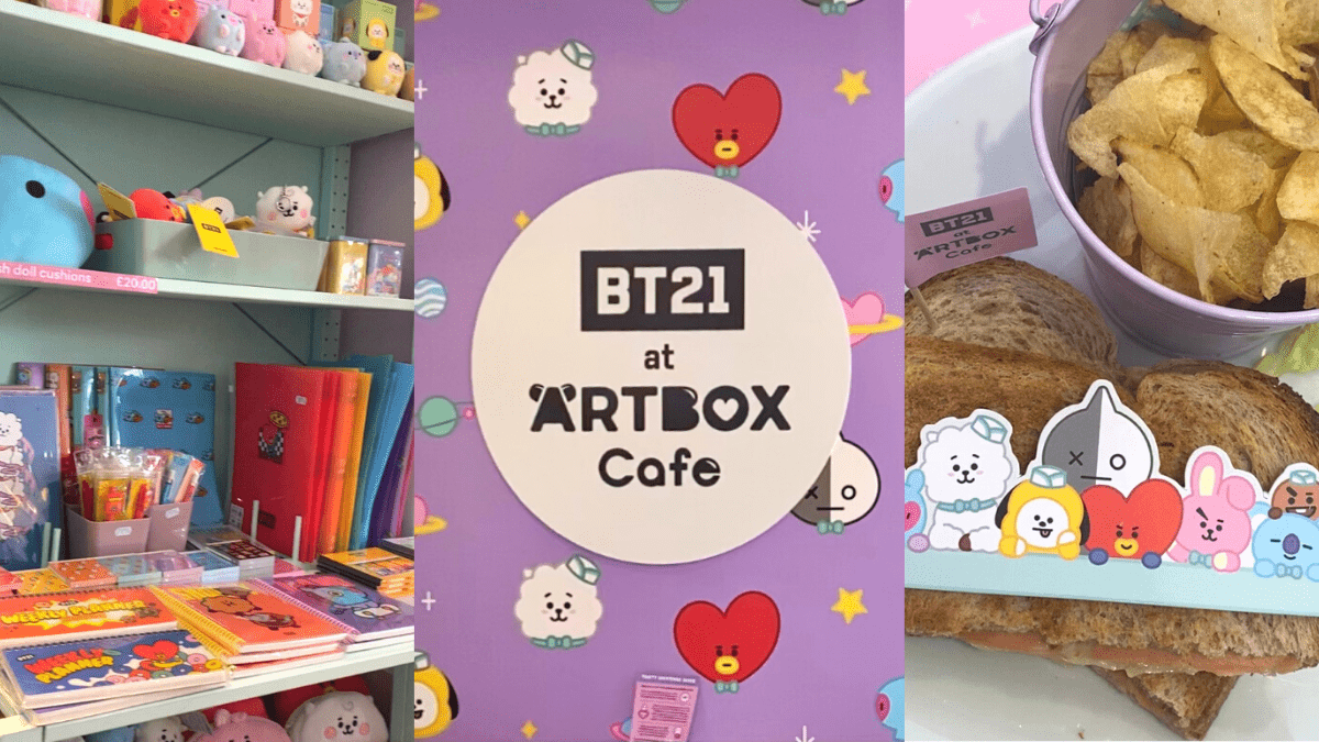 We Visited The ARTBOX LINE FRIENDS & BT21 Cafe, Here's Our Review
