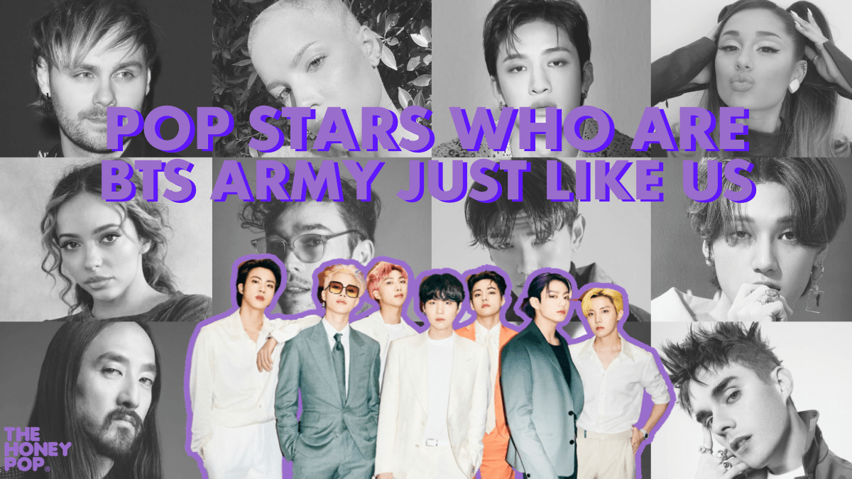 Legends Supporting Legends: Popstars Who Are BTS ARMY Just Like Us