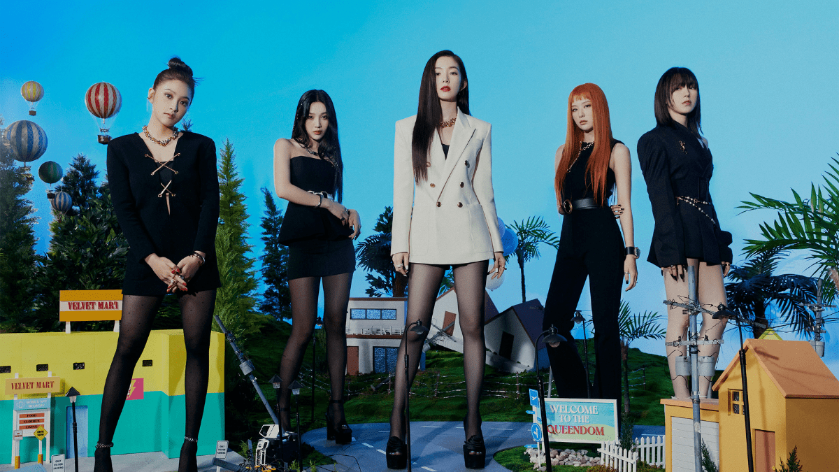 Red Velvet Are Back To Rule With 'Queendom'