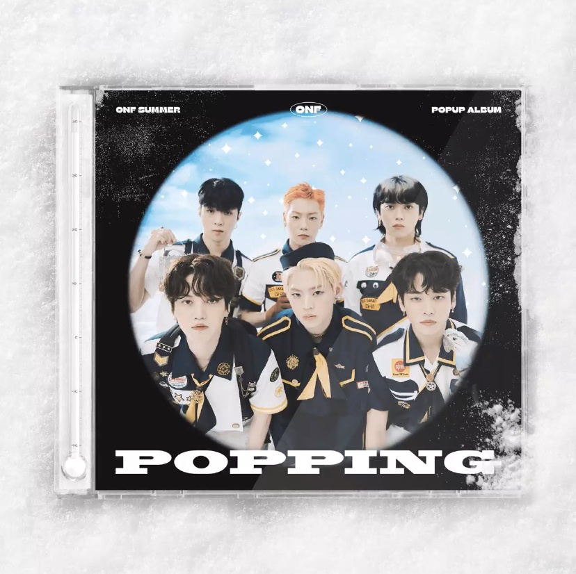 onf popping cover
