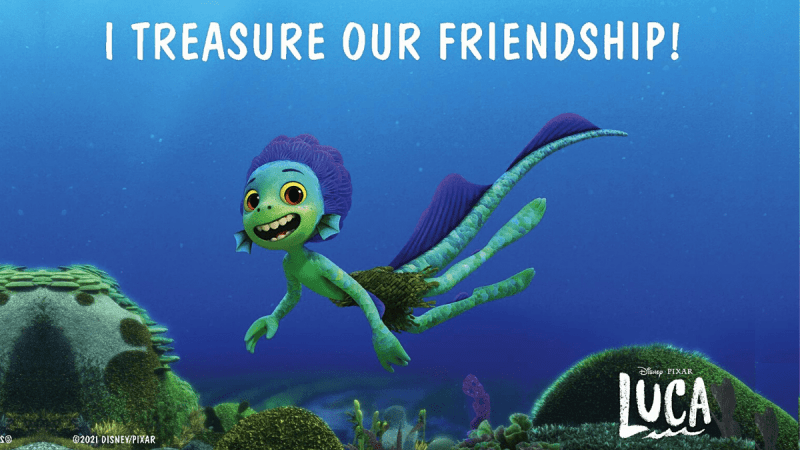 Send A Little Love from Luca & His Friends With Postable
