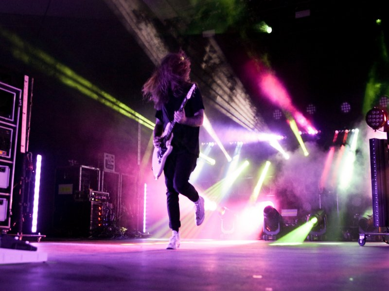 the used, concert, photography