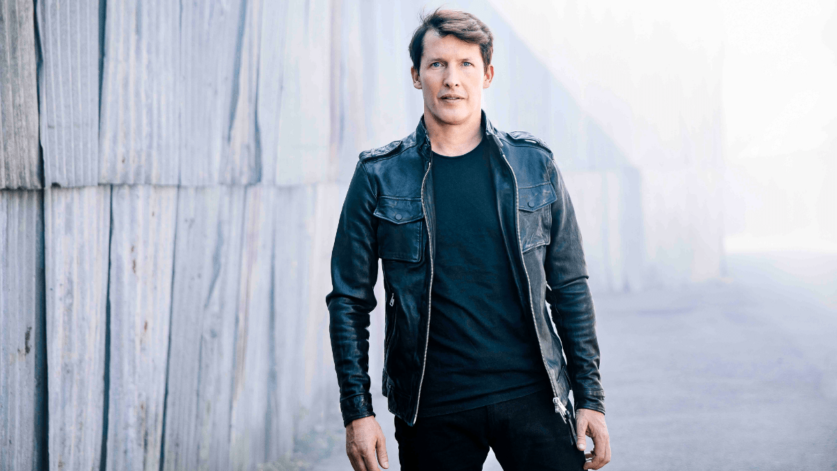 James Blunt Adds New Song 'Love Under Pressure' To His Slew Of Hits